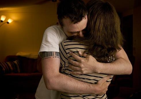 co-dependent hug