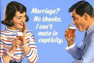 Marriage. No thanks