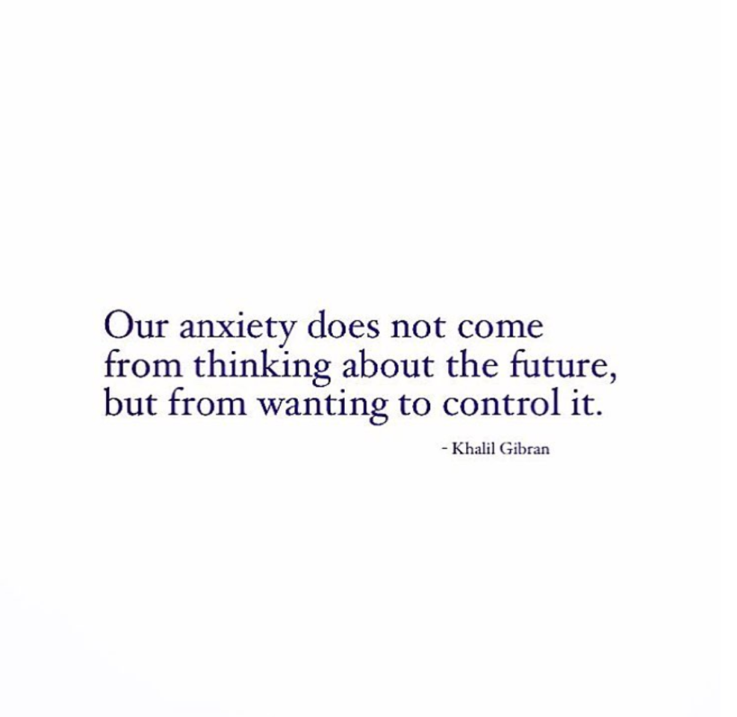 control of future